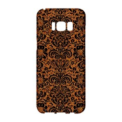 Damask2 Black Marble & Rusted Metal Samsung Galaxy S8 Hardshell Case  by trendistuff