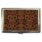 DAMASK2 BLACK MARBLE & RUSTED METAL (R) Cigarette Money Cases