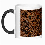 DAMASK2 BLACK MARBLE & RUSTED METAL (R) Morph Mugs