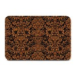 DAMASK2 BLACK MARBLE & RUSTED METAL (R) Plate Mats