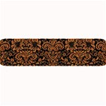 DAMASK2 BLACK MARBLE & RUSTED METAL (R) Large Bar Mats