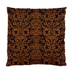 DAMASK2 BLACK MARBLE & RUSTED METAL (R) Standard Cushion Case (Two Sides)