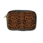 DAMASK2 BLACK MARBLE & RUSTED METAL (R) Coin Purse