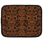 DAMASK2 BLACK MARBLE & RUSTED METAL (R) Netbook Case (XXL)
