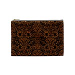 DAMASK2 BLACK MARBLE & RUSTED METAL (R) Cosmetic Bag (Medium)