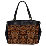 DAMASK2 BLACK MARBLE & RUSTED METAL (R) Office Handbags (2 Sides)  Front