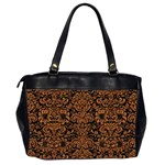 DAMASK2 BLACK MARBLE & RUSTED METAL (R) Office Handbags (2 Sides)  Back