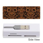 DAMASK2 BLACK MARBLE & RUSTED METAL (R) Memory Card Reader (Stick)