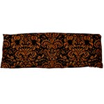 DAMASK2 BLACK MARBLE & RUSTED METAL (R) Body Pillow Case (Dakimakura)