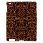 DAMASK2 BLACK MARBLE & RUSTED METAL (R) Apple iPad 3/4 Hardshell Case