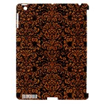 DAMASK2 BLACK MARBLE & RUSTED METAL (R) Apple iPad 3/4 Hardshell Case (Compatible with Smart Cover)