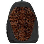 DAMASK2 BLACK MARBLE & RUSTED METAL (R) Backpack Bag