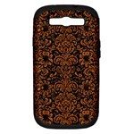 DAMASK2 BLACK MARBLE & RUSTED METAL (R) Samsung Galaxy S III Hardshell Case (PC+Silicone)