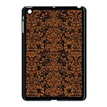 DAMASK2 BLACK MARBLE & RUSTED METAL (R) Apple iPad Mini Case (Black)