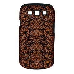Damask2 Black Marble & Rusted Metal (r) Samsung Galaxy S Iii Classic Hardshell Case (pc+silicone) by trendistuff