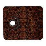 DAMASK2 BLACK MARBLE & RUSTED METAL (R) Galaxy S3 (Flip/Folio)