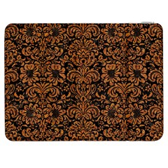 Damask2 Black Marble & Rusted Metal (r) Samsung Galaxy Tab 7  P1000 Flip Case