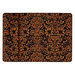 DAMASK2 BLACK MARBLE & RUSTED METAL (R) Samsung Galaxy Tab 10.1  P7500 Flip Case