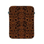 DAMASK2 BLACK MARBLE & RUSTED METAL (R) Apple iPad 2/3/4 Protective Soft Cases