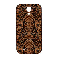 Damask2 Black Marble & Rusted Metal (r) Samsung Galaxy S4 I9500/i9505  Hardshell Back Case by trendistuff