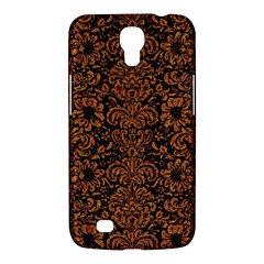 Damask2 Black Marble & Rusted Metal (r) Samsung Galaxy Mega 6 3  I9200 Hardshell Case by trendistuff