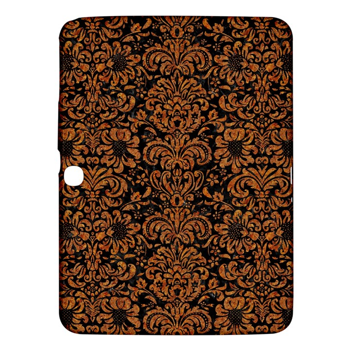 DAMASK2 BLACK MARBLE & RUSTED METAL (R) Samsung Galaxy Tab 3 (10.1 ) P5200 Hardshell Case