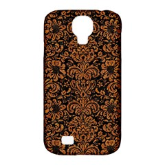 Damask2 Black Marble & Rusted Metal (r) Samsung Galaxy S4 Classic Hardshell Case (pc+silicone) by trendistuff