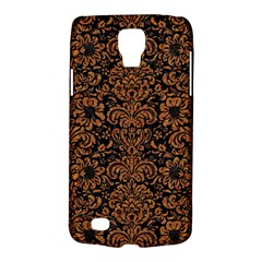 Damask2 Black Marble & Rusted Metal (r) Galaxy S4 Active