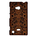 DAMASK2 BLACK MARBLE & RUSTED METAL (R) Nokia Lumia 720