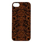 DAMASK2 BLACK MARBLE & RUSTED METAL (R) Apple iPhone 5S/ SE Hardshell Case