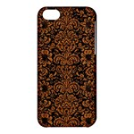 DAMASK2 BLACK MARBLE & RUSTED METAL (R) Apple iPhone 5C Hardshell Case