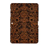 DAMASK2 BLACK MARBLE & RUSTED METAL (R) Samsung Galaxy Tab 2 (10.1 ) P5100 Hardshell Case