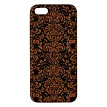 DAMASK2 BLACK MARBLE & RUSTED METAL (R) iPhone 5S/ SE Premium Hardshell Case