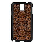 DAMASK2 BLACK MARBLE & RUSTED METAL (R) Samsung Galaxy Note 3 N9005 Case (Black)