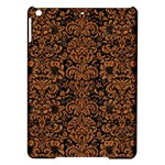 DAMASK2 BLACK MARBLE & RUSTED METAL (R) iPad Air Hardshell Cases