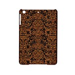 DAMASK2 BLACK MARBLE & RUSTED METAL (R) iPad Mini 2 Hardshell Cases