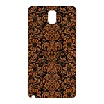 DAMASK2 BLACK MARBLE & RUSTED METAL (R) Samsung Galaxy Note 3 N9005 Hardshell Back Case