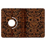 DAMASK2 BLACK MARBLE & RUSTED METAL (R) Kindle Fire HDX Flip 360 Case