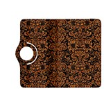 DAMASK2 BLACK MARBLE & RUSTED METAL (R) Kindle Fire HDX 8.9  Flip 360 Case