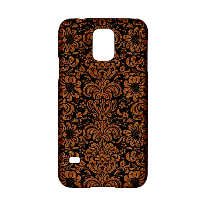 DAMASK2 BLACK MARBLE & RUSTED METAL (R) Samsung Galaxy S5 Hardshell Case