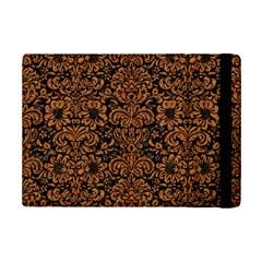 Damask2 Black Marble & Rusted Metal (r) Ipad Mini 2 Flip Cases by trendistuff