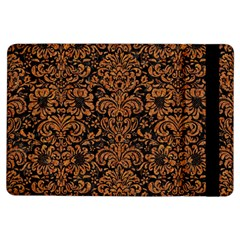 Damask2 Black Marble & Rusted Metal (r) Ipad Air Flip by trendistuff