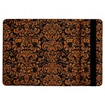 DAMASK2 BLACK MARBLE & RUSTED METAL (R) iPad Air Flip