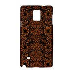 DAMASK2 BLACK MARBLE & RUSTED METAL (R) Samsung Galaxy Note 4 Hardshell Case