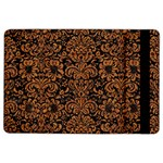 DAMASK2 BLACK MARBLE & RUSTED METAL (R) iPad Air 2 Flip