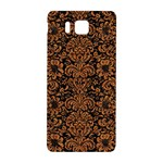 DAMASK2 BLACK MARBLE & RUSTED METAL (R) Samsung Galaxy Alpha Hardshell Back Case