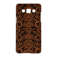 Damask2 Black Marble & Rusted Metal (r) Samsung Galaxy A5 Hardshell Case  by trendistuff