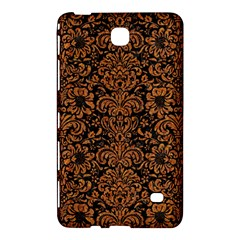 Damask2 Black Marble & Rusted Metal (r) Samsung Galaxy Tab 4 (8 ) Hardshell Case