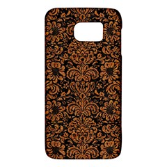 Damask2 Black Marble & Rusted Metal (r) Galaxy S6 by trendistuff