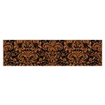 DAMASK2 BLACK MARBLE & RUSTED METAL (R) Satin Scarf (Oblong)